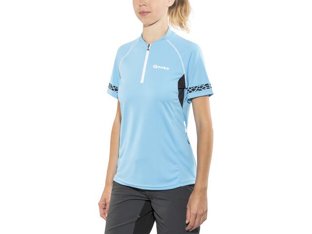 Gonso Pona Bike-Shirt Damen bonnie blue